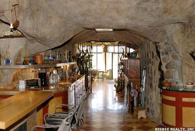 Arizone cave home.