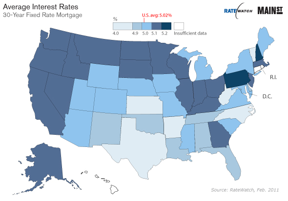 Where to Find a Mortgage Rate Under 5%