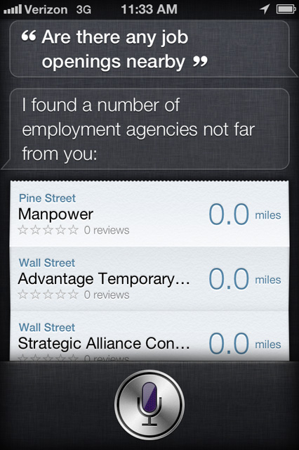 iPhone 4s Siri 3