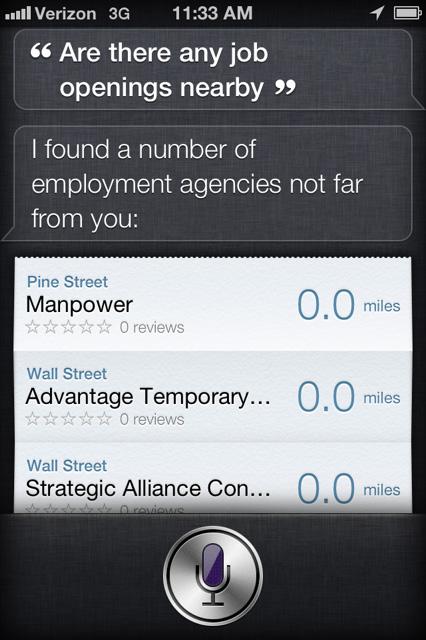 iPhone 4s Siri 3