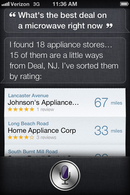 iPhone 4s Siri 5