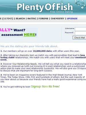 Plenty fish dating agency for Browse plenty of fish