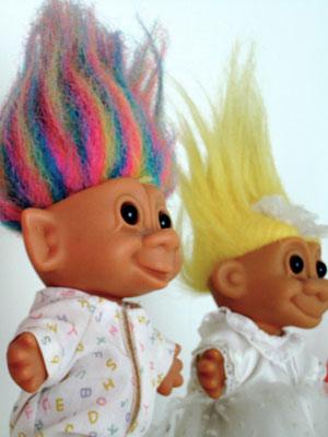 1990s Troll Dolls Troll dolls