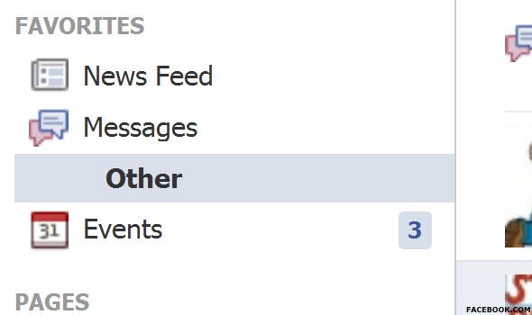Facebook's Hidden Inbox