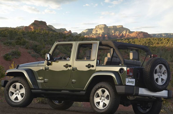 "Jeep Wrangler Unlimited Sahara ""Consumer Reports has no relationship with"