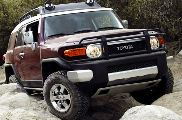 big toyota fj cruiser car picture