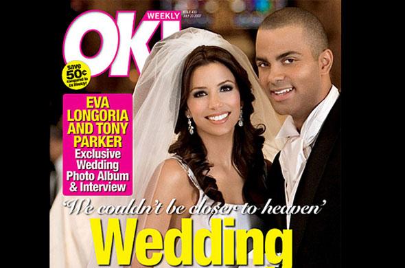 The Most Expensive Celebrity Weddings Eva Longoria and Tony Parker