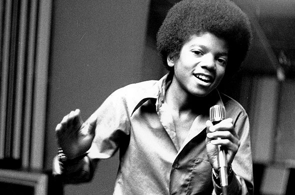 Jackson at age 13  the youngest member of the group The Jackson 5    Michael Jackson Jackson 5 Singing
