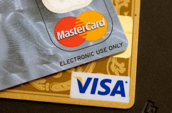 mastercard credit card. While a credit card may have a