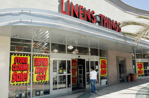 Linens 'n Things filed for bankruptcy in 2008 and later said it would