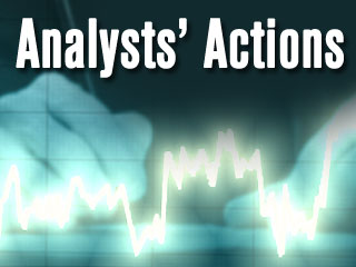 Analysts' Actions: ABT ACN GD KMX PCLN