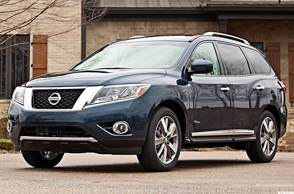 Nissan Backup Camera 10 Best Family Cars of 2014 - TheStreet
