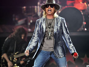 Axl Rose Sues Activision Blizzard - TheStreet