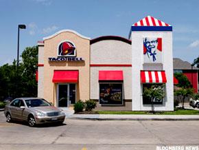 Taco Bell and KFC