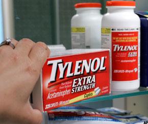 Tylenol Recall