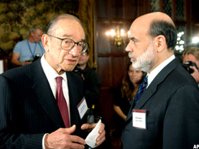 Bernancke and Greenspan have destroyed America