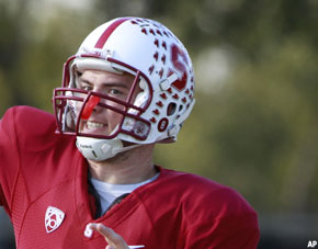 Andrew Luck, Stanford