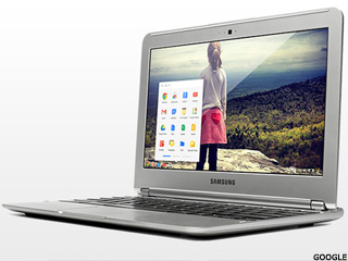 Google's $249 Samsung laptop